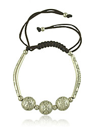 Nepal National Wind Ancient Silver Carve Patterns Or Designs on Woodwork Design Hand Woven Bracelets