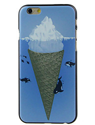 Para Funda iPhone 6 / Funda iPhone 6 Plus Diseños Funda Cubierta Trasera Funda Dibujos Dura PolicarbonatoiPhone 6s Plus/6 Plus / iPhone