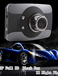 Hot Sale Mini Black Box 3.0'TFT FullHD 1080P Car Dvr Camcorder With IR Night Vision 170 Degree G-sensor Novatek Chip
