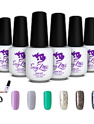 sexy gel uv mix gel cor polonês para nail art mergulhar off gel set polonês