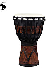 Sf Star of Africa  Indonesia Produce 7-Inch Carving Djembe-DPD30DS