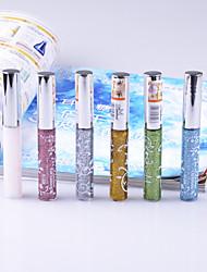 6Pcs Color Cosmetics Eye Liner 6 Color Liquid Liner Magic Eye Makeup