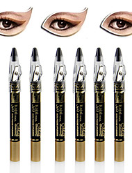 6PCS Dazzling Shimmer Eye Shadow Pen & Eyeliner Set