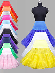 Slips Ball Gown Slip Knee-Length 3 Polyester / Lycra / OrganzaWhite / Black / Red / Ivory / Blue / Purple /