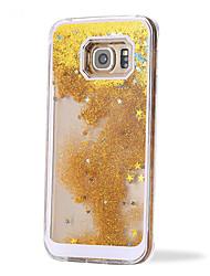 Pour Samsung Galaxy Coque Liquide Coque Coque Arrière Coque Brillant Polycarbonate pour Samsung S6 edge plus S6 edge S6 S5 S4 S3