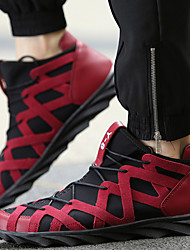 Men's Running Shoes Synthetic / Canvas Black / Red