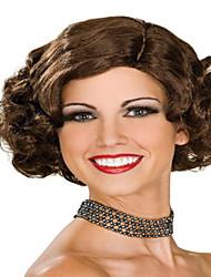 разумно в цене короткие синтетические парики расширений очаровательном стиле