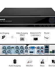 ANNKE® 8CH 960H CCTV System Waterproof Video Recorder 900TVL Home Security Camera Surveillance Kits 1TB HDD