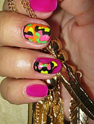 4pcs/lot Stiker 3D Kecantikan Nail stiker