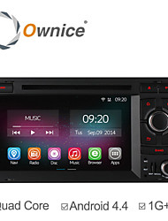 Ownice Quad Core Car DVD Player For Audi A3 S3 2003 2004 - 2011 with Android 4.4 GPS Navigation Radio Headunit