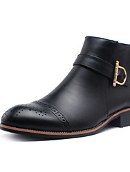 Men's Shoes Casual Boots Black