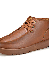 Men's Shoes Casual Fashion Sneakers Black / Brown / Orange
