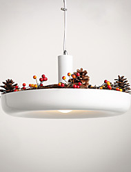 Pure White New Modern Contemporary  Decorative Design Pendant Light/Dinning Room, Living Room, Family Room, Bedroom