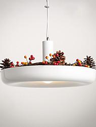 Pure White New Modern Contemporary  Decorative Design Pendant Light/Dinning Room, Living Room, Family Room, Bedroom