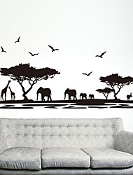 Animal World Wall Stickers