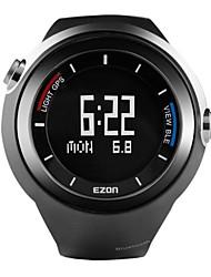 EZON mujeres y los hombres del deporte del cronógrafo multifuncional termómetro gps luminosa reloj impermeable g2