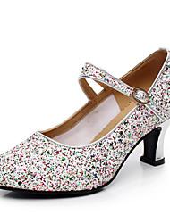 Zapatos de baile ( Plata / Oro ) - Salsa - No Personalizable - Tacón Cubano