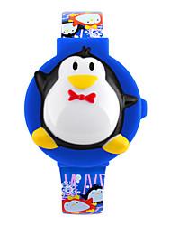 Skmei®Children Fashion Penguin Shape LED Wrist Watch PU Strap Assorted Colors Cool Watches Unique Watches