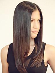Femme Perruque Naturelles Dentelle Cheveux humains Lace Front 120% Densité Raide Perruque # 27 # 30 # 33 #4/27 Auburn Mi Longue Cheveux