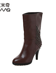 AIMICKEY Women's Leather Boots