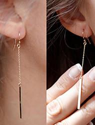 Earring Drop Earrings Jewelry Daily / Casual Alloy 1set