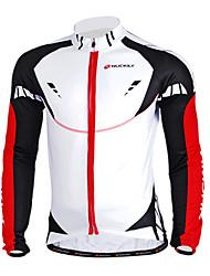 NUCKILY Mountain Bike Team In Autumn And Winter Long-Sleeved Sersey Sindproof Fleece Warm Coat Male Sportswear