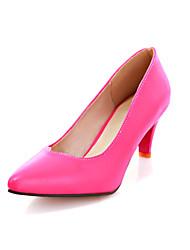 Zapatos de mujer - Tacón Cono - Puntiagudos - Tacones - Vestido / Casual - Semicuero - Negro / Azul / Rosa