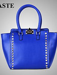 Paste® Hot Selling Rivet Decoration Women Real Leather Bag