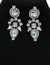 Women's Fashion Rhinestones Stud Earring 1pair