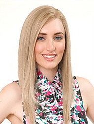 Elegant Medium Blonde  Synthetic  Wigs Extensions Superior In Quality
