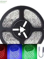5м 75w 300x5050 SMD LED DC12V IP68 водонепроницаемый полосы света + 10KEY RGB дистанционного управления
