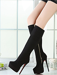 Women's Shoes Sexy 16cm Heel Height Round Toe Stiletto Heel Knee High Boots More Colors available