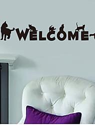 Animais Wall Stickers Autocolantes de Aviões para Parede Autocolantes de Parede Decorativos,Vinil Material Removível Decoração para casa