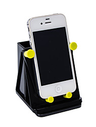 360 graus de rotação do painel do carro montar titular suporte para GPS do telefone celular móvel