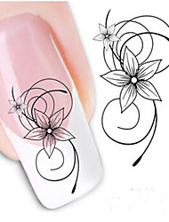1pcs Nail Water Transfer Stickers