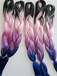 Violet Box Tresses Jumbo Extensions de cheveux Brin gramme Braids Hair