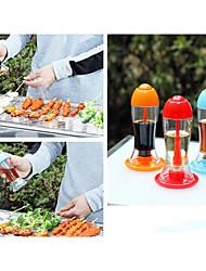 бутылка масла барбекю портативный кухня prinkling можете приправы соус бутылки банки соевый уксус нажмите отток случайный цвет