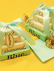 Blue Memo Favors
