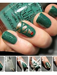 5pcs Kits Nail Art Nail Art Kit outil de manucure Maquillage cosmétique Art Nail DIY