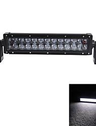 OSRAM 12Inch 120W LED Flood Work Light Bar Offroad Driving 4WD Truck ATV