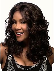 venta caliente las mujeres african lady pelucas onda mezcla sintética color de pelo