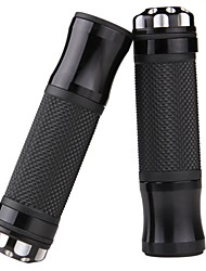 "7/8"" Universal Motorcycle Motorbike Rubber Handlebar Hand Bar Grips"