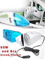 version auto 60w 12v mini-haute puissance automatique de poche vide de voiture de Hoover collecteur de poussière Cleaner Portable humide
