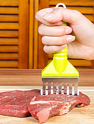 Practical Meat Tenderizer Needle Veal Steaks Chops Chicken Tender Flatten Hamstring Knife Random Color