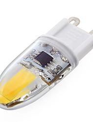 ywxlight® PC 1 G9 regulable 6w 2 * cob 500-700 lm blanco / blanco fresco t luces bi-pin regulables cálidos 220-240 V CA