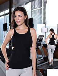 Königin Yoga ® Yoga Tank Tops Atmungsaktiv / Videokompression Dehnbar Sportbekleidung Yoga Damen