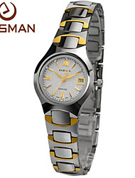 EASMAN® Watches Brand Laides Tungsten Steel Gold Watch Luxury Sapphire Glass Ladies Quartz Designer Watches For Women Cool Watches Unique Watches