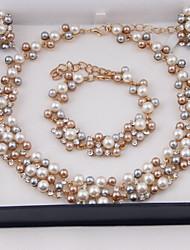 Collier / Boucles d'Oreille / Bracelet ( Alliage ) Vintage / Mignon / Soirée / Décontracté pour Femme