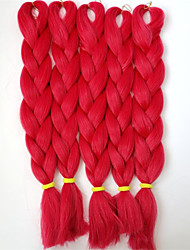 24inch snythetic t1664 cheveux tresse