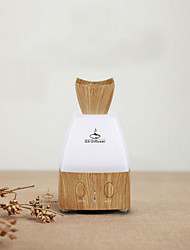 7 Colors Wood Grain Humidifier USB LED Household Ultrasonic Aroma Aromatherapy Air Diffuser Purifier Mist Maker